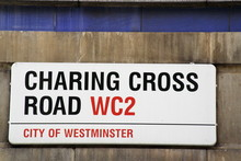 Charing Cross SW1  Street Sign...