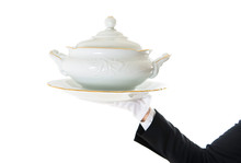 Waiter With A Tureen