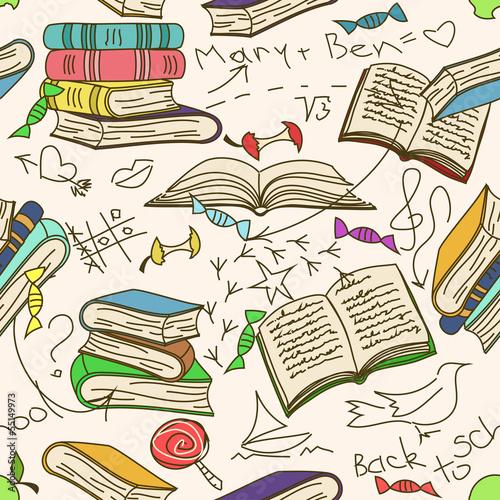 doodle-bez-szwu-wzor-ksiazek-i-bazgroly-dla-dzieci