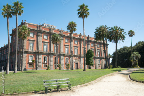 Valokuva  Royal Palace of Capodimonte, Naples