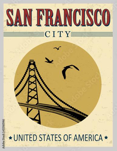 golden-gate-bridge-z-plakatu-w-stany-zjednoczone-ameryki