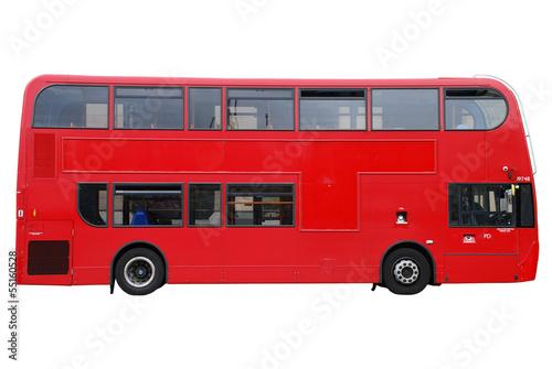 Fotografie, Tablou  London Doppeldecker Bus rot