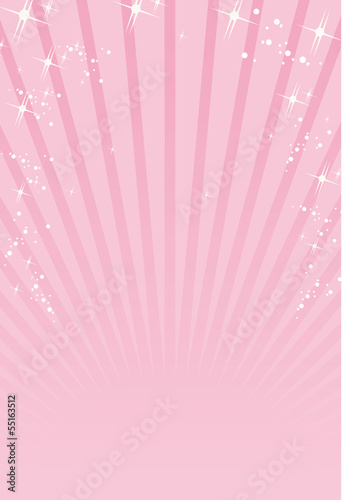 Fotografie, Obraz  pink ray background Vector