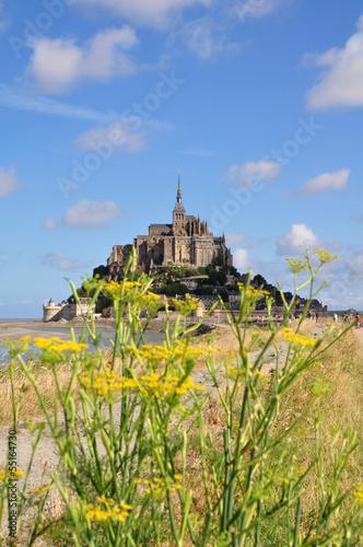 Obraz na płótnie Le Mont Saint Michel, France