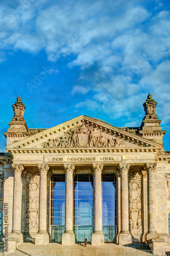 Wall Murals Nepal Facade of the Reichstag building in Berlin, Germany