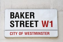Baker Street Famous London Street Sign