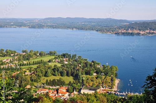 Photo  Il Lago Maggiore a Solcio e Lesa