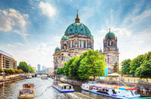 Berlin Cathedral. Berliner Dom. Berlin, Germany Canvas Print