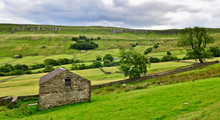 Derelict Barn In The Yorkshire Dales