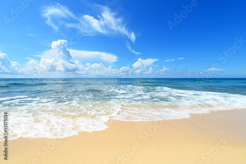 Cuadros en Lienzo 南国沖縄 コマカ島の美しいビーチ