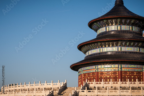 Keuken foto achterwand Beijing The Temple of Heaven in Beijing, China.