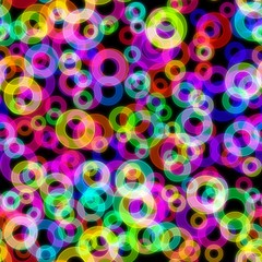 FototapetaAbstract neon seamless background.