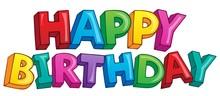 Happy Birthday Theme 4