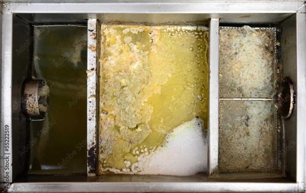 Fototapety, obrazy: Grease traps box