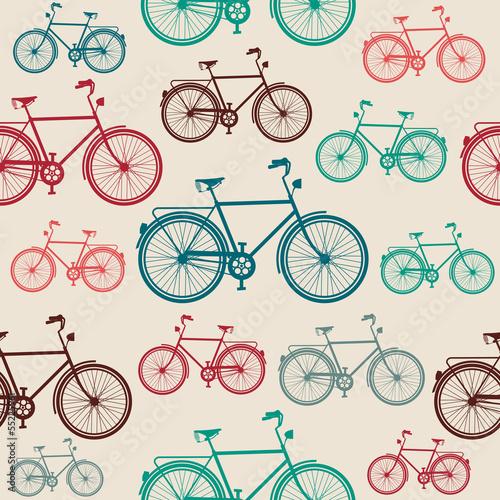 wzor-z-rowerami-w-stylu-vintage