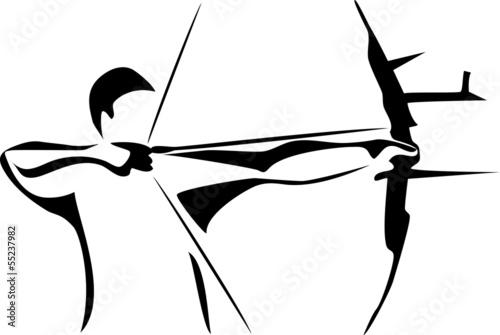 Canvas Print archer