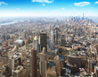 New York city.Aerial view.