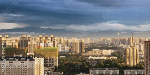 Foto op Aluminium Xian city panorama