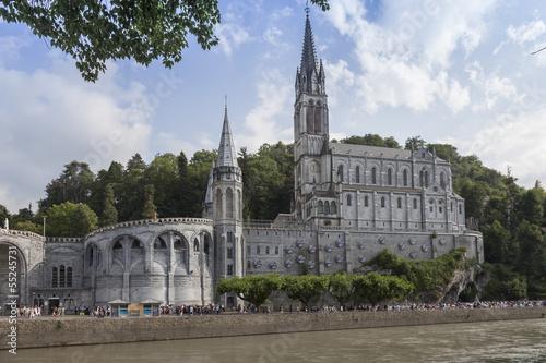 Photo  Basilique de Lourdes