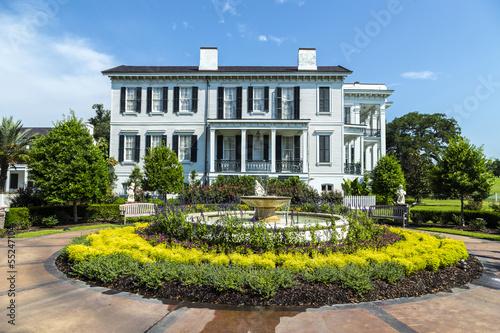 Photo historic Nottoway plantation in Louisiana