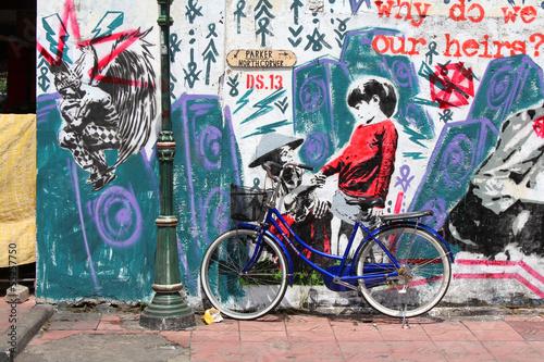 Street art in Yogyakarta - Indonesia