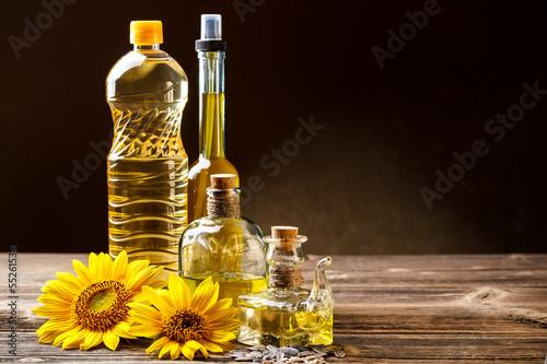 Fototapeta Oils in bottles obraz