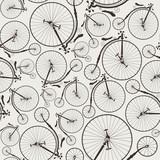vintage rower bez szwu, tapeta, idealna do wydruków - 55261973