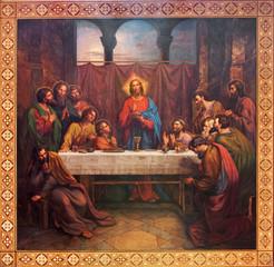 Fototapeta Dla Kościoła Vienna - Fresco of Last supper of Christ