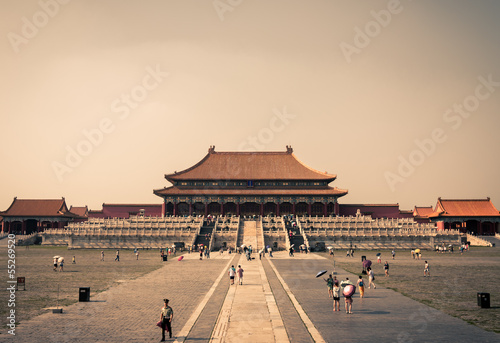 Recess Fitting Beijing The Hall of Supreme Harmony at the Forbidden City.