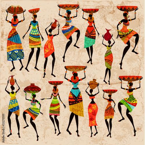 Fototapeta Afryka   kobiety-afrykanskie