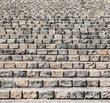 Brick urban staircase