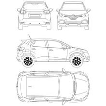 Renault Captur Blueprint Techn...