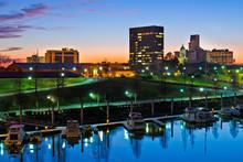 Downtown Augusta, Georgia, Alo...
