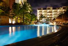 Swimming Pool At Caribbean Res...