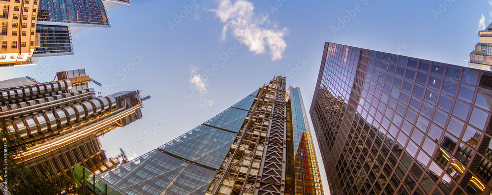 Fototapety, obrazy: Skyscrapers in the City of London