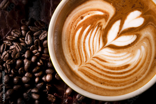 Slika na platnu Latte Art