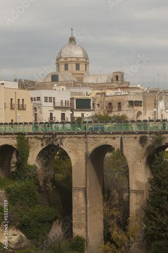 Fotografie, Obraz  Massafra town, Italy, Puglia region