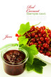 red currant jam