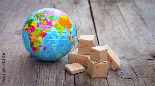 World Import and Export Canvas-taulu