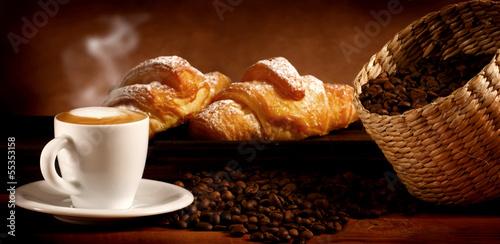 Caffè macchiato Canvas Print