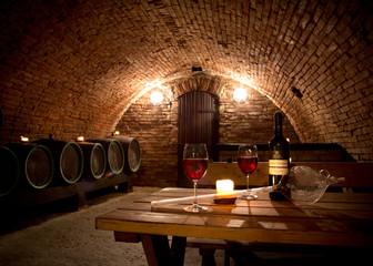 Fototapeta Do steakhouse Wine cellar