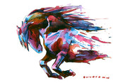 Fototapeta Horses - horse