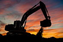 Track-type Loader Excavator At...