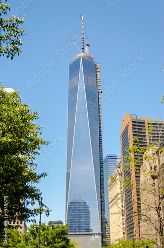 One World Trade Center, aka Freedom Tower плакат