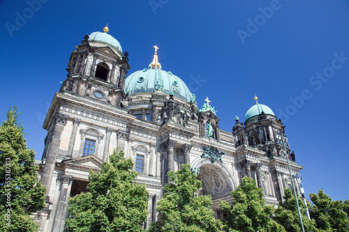 Photo  Berlin Cathedral. Berliner Dom, Germany