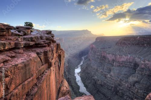 Grand Canyon Toroweap Point Sunrise