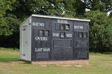 Scoreboard Hut