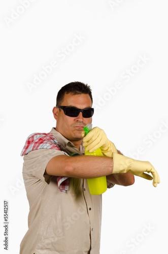 фотография  Cleaning agent
