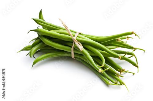 Fotografía  fresh green beans