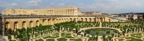 Deurstickers Kasteel Orangerie et château de Versailles